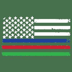THIN LINES FLAG