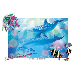 FLORAL DOLPHINS