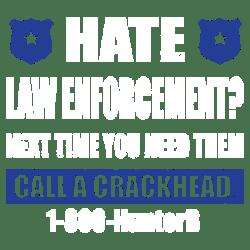 HATE LAW ENFORCEMENT
