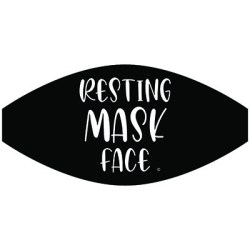 RESTING MASK FACE MASK TRANSFERS
