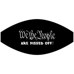 WE THE PEOPLE PISSED MASK TRANSFERS
