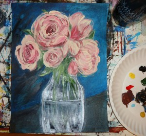 Roses start to finish 8