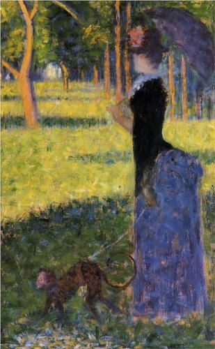 Woman with a Monkey