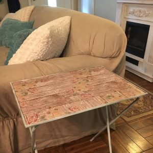 Shabby Chic TV Tray