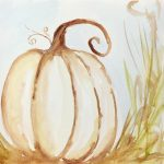 Watercolor Pumpkin: a Heart to Heart eCourse
