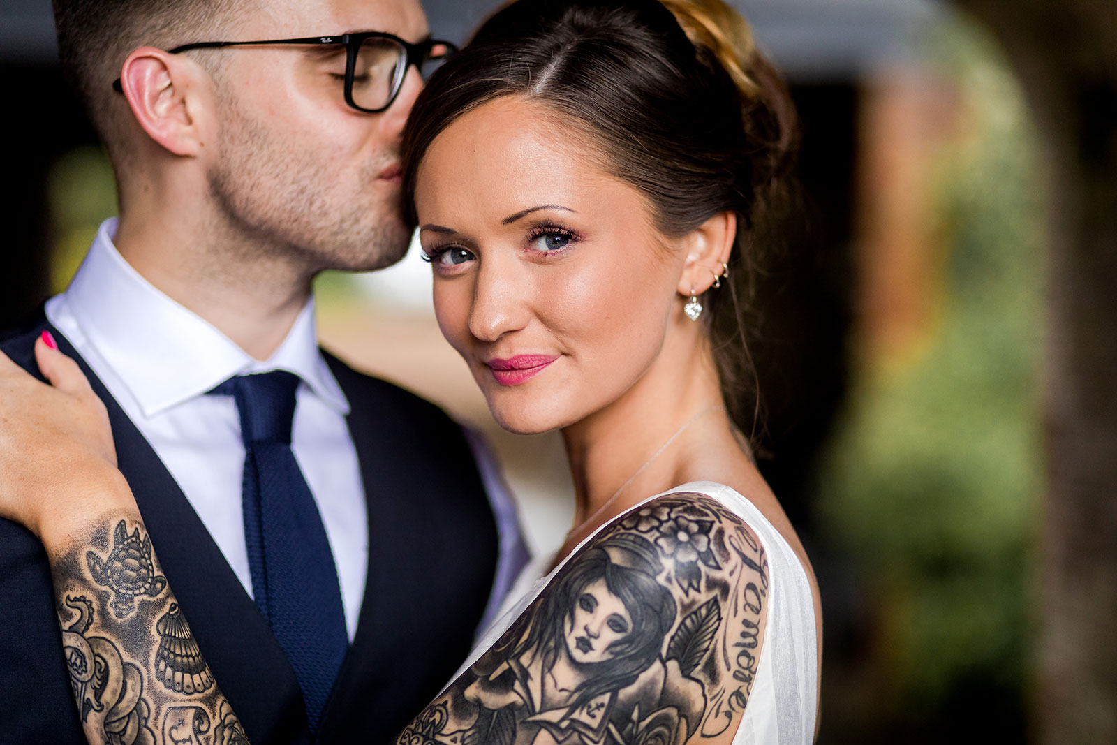 Tattoo Bride Wales - Unique wedding photography Wales