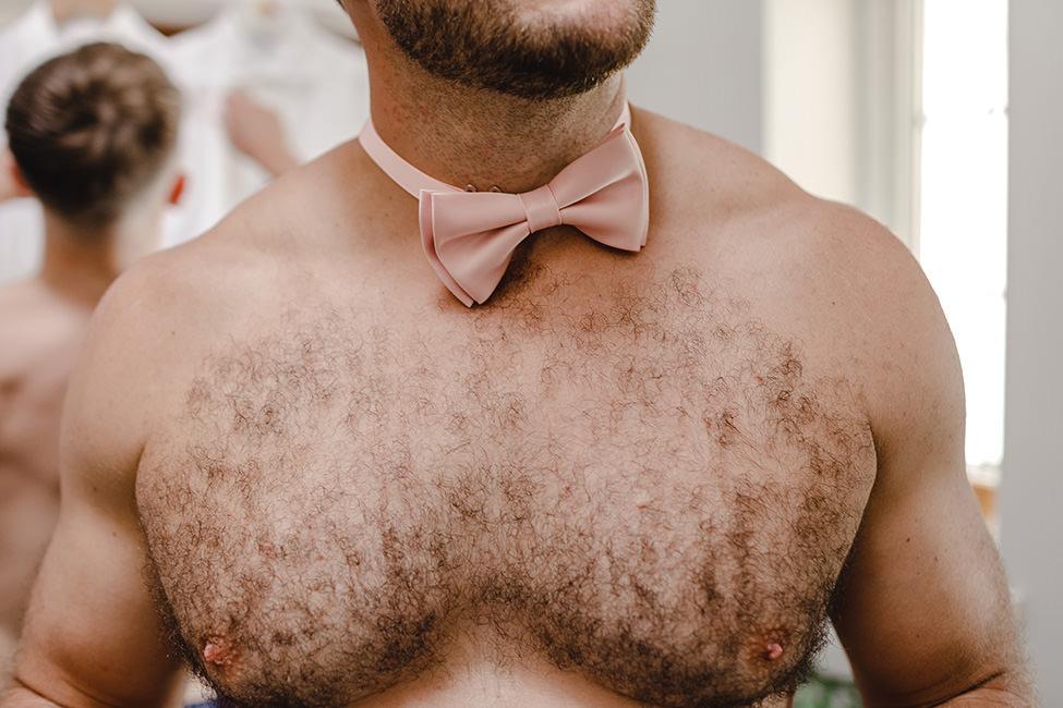 mens wedding bowtie wales