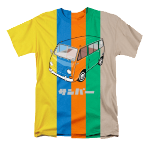 Sambar Van Shirt Transp Colorful Preview