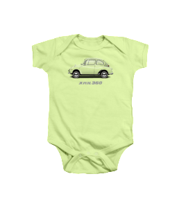 Subaru 360 Transp Onesie Preview