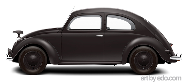1941 kdf wagen notek light