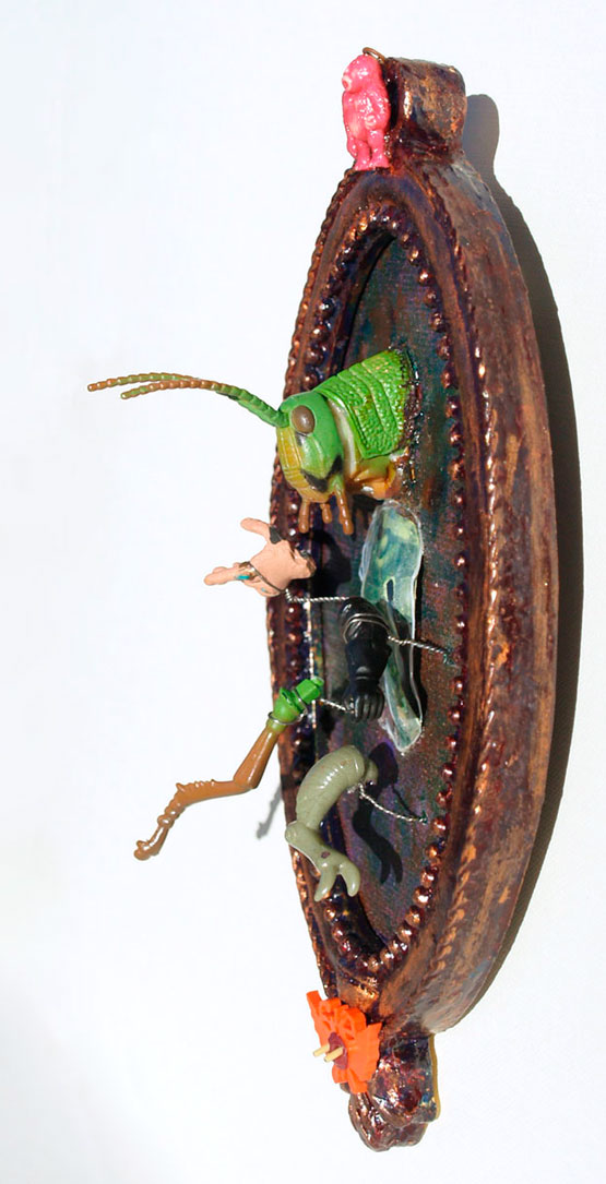 Grasshoppa Man Side View