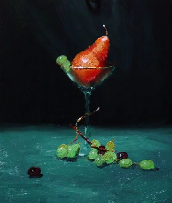 Purchase a painting: Pear Martini