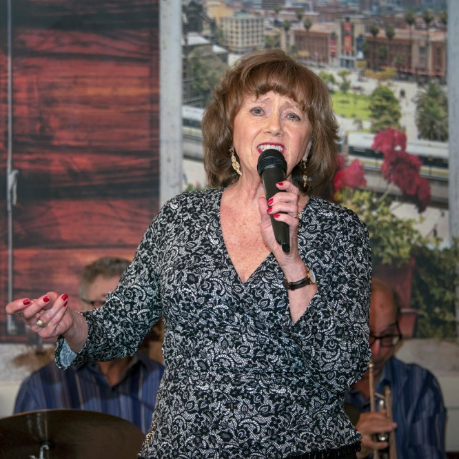Mary Mitchell with the Winiker Jazz Trio