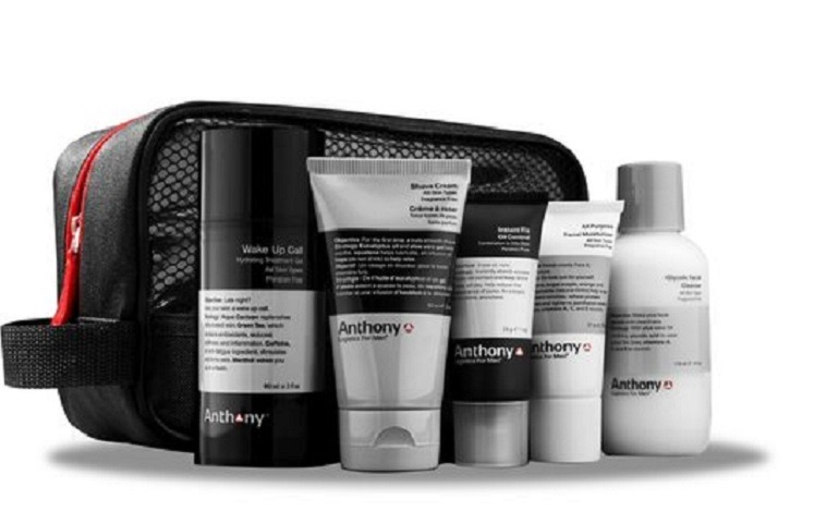 Image: Anthony Father's Day Survival Kit, including glycolic facial cleanser, shave cream, facial moisturizer and instant fix oil control will keep Fathers fresh beyond  the Father's Day Celebration