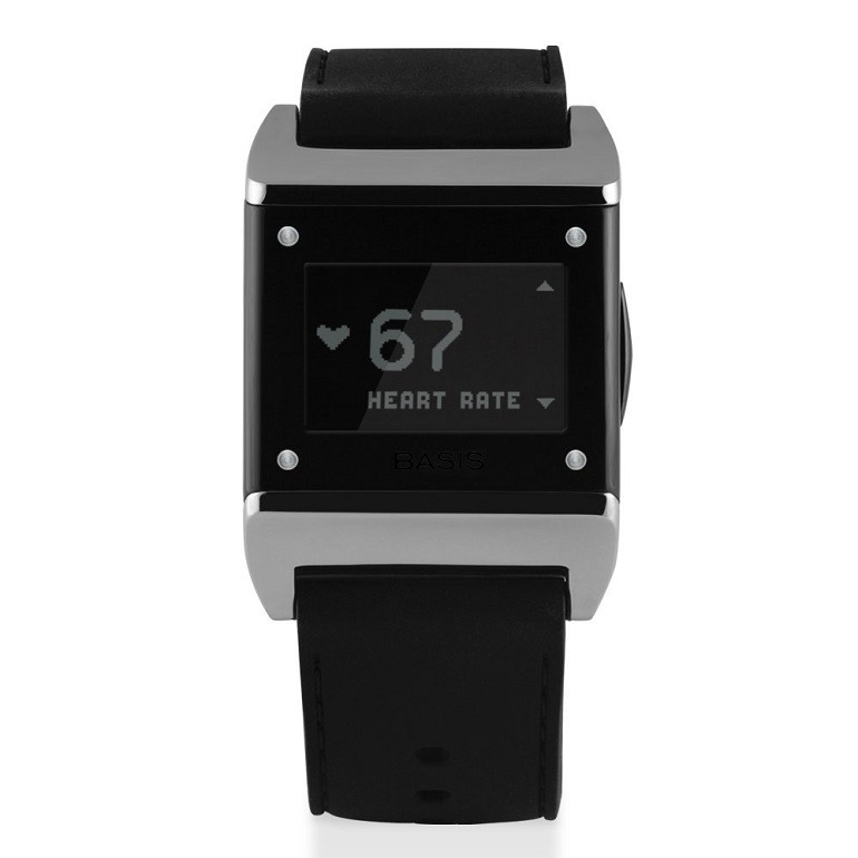 Image: Basis Carbon Steel HealthTracker  is one of  best tools to measure heart rate, motion sleep patterns, and many other  bodily functions  and daily activities