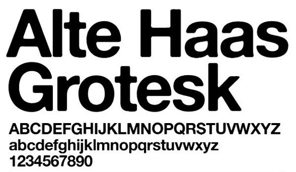 Alte Haas Grotesk Free for Commercial use Font
