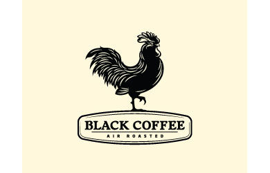 Black Coffee Logo