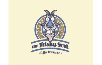 The Frisky Goat logo
