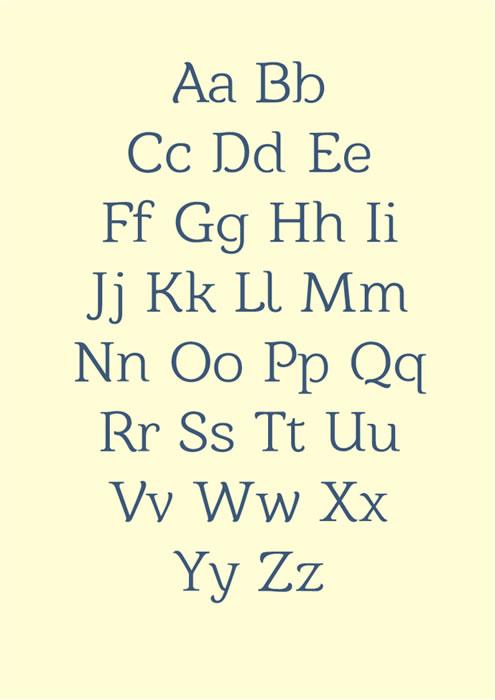 9 Új Free Fonts a minták