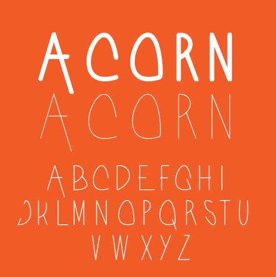 8 gyönyörű New Free Fonts