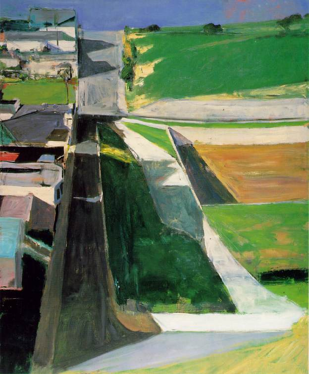 Richard Diebenkorn 'Cityscape I (Landscape No. 1)', 1963 - taken from the Artchive
