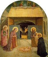Fra Angelico, 'The Nativity'