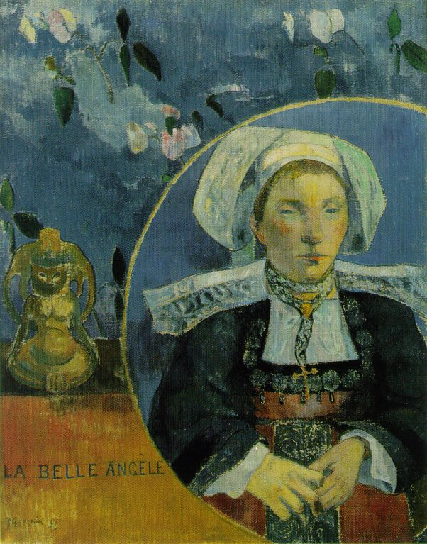 Paul Gaugin, La Belle Angele, 1889, Musee dOrsay
