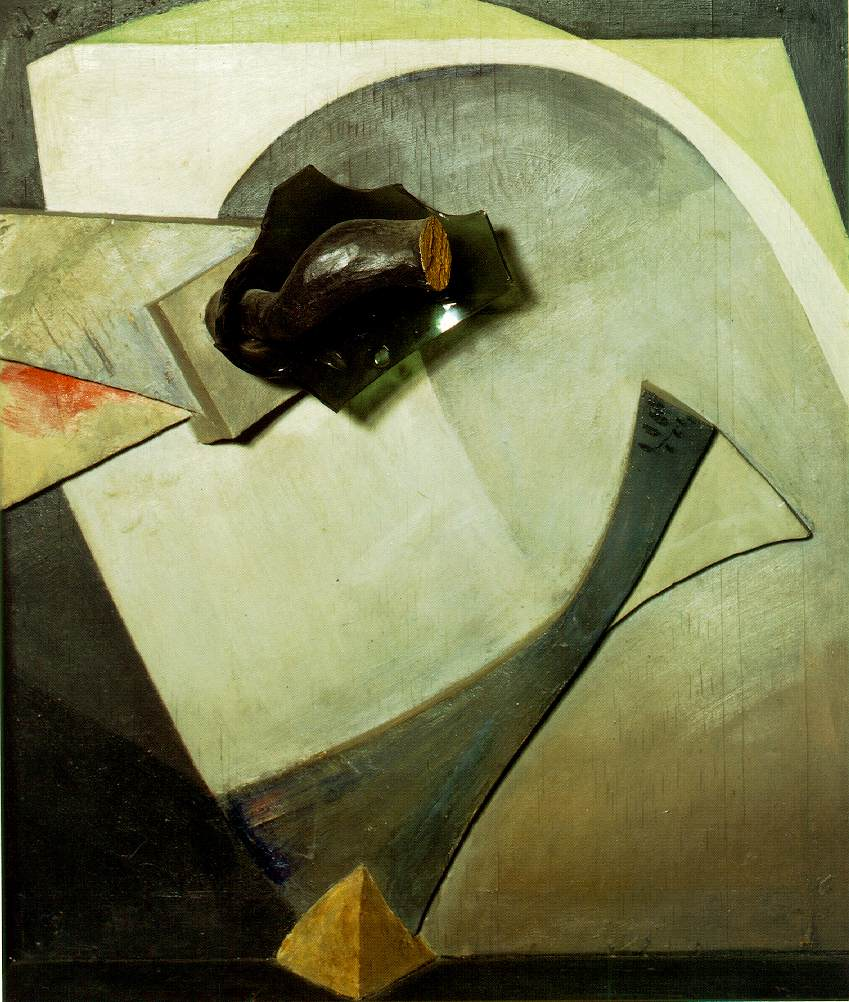 Kurt Schwitters Untitled assemblage 1940 (Glass Flower) 77.5 x 67.5 x 25.5 cm Ludwig Collection