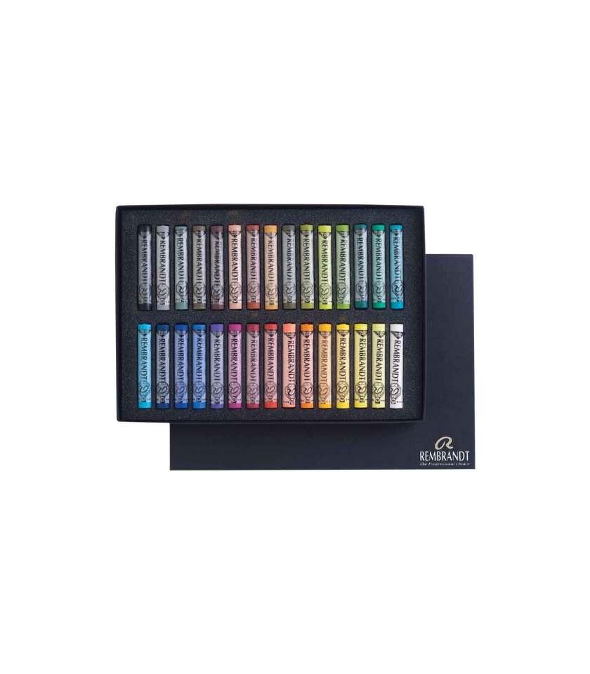 Set-30-Soft-pastel-rembrandt-general-talens-art&Colour-2