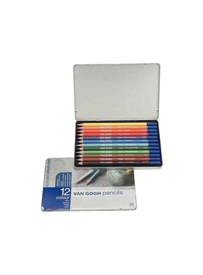 Set-van-gogh-pencils-12xrwmata-colour-Talens-Art&Colour