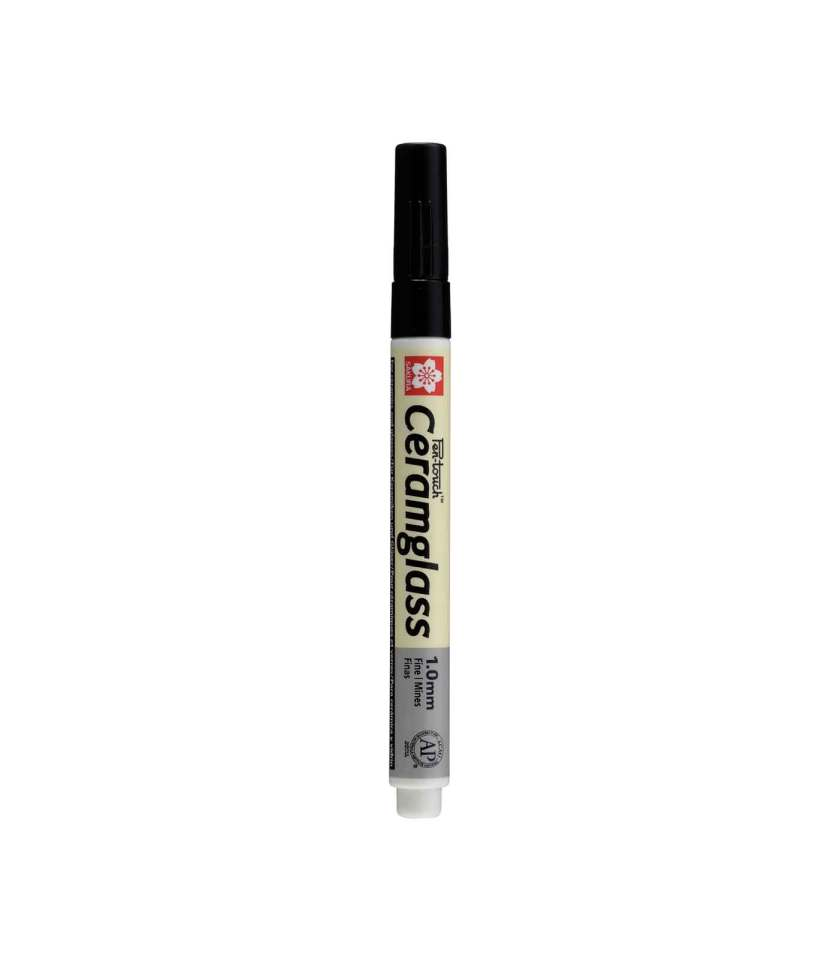 Markadoros-PenTouch-CeramGlass-1mm-black-Sakura-Art&Colour