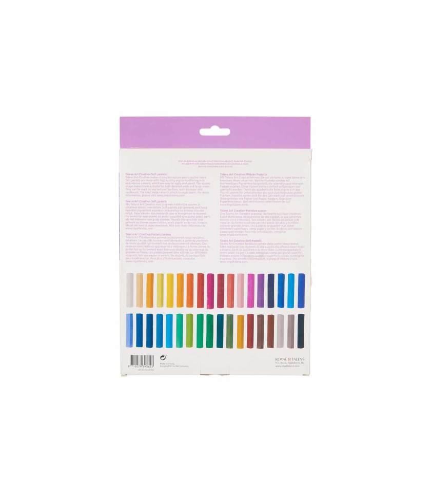 Set-24-Soft-Pastels-Art-Creation-Talens-Art&Colour-Back