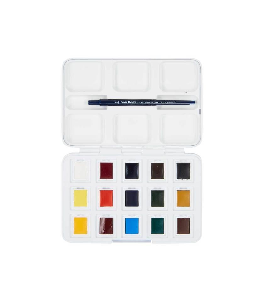 Set-Akouareles-12+3-Van-Gogh-Talens-Art&Colour-1