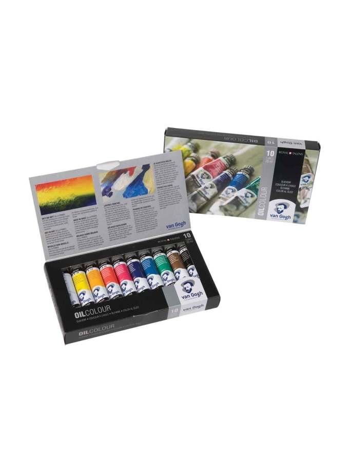 set-10-ladoxromata-van-gogh-20ml-Talens-Art&Colour-ColorCard-1