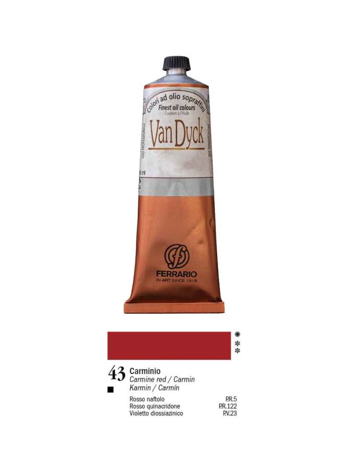 43-Van-Dyck-150ml-Ferrario-Oil-Colour-Art&Colour