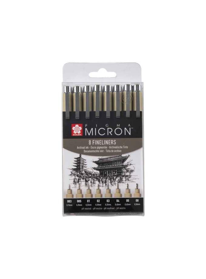 POXSDK8-set-8-markadorakia-pigma-micron-sakura-Art&Colour