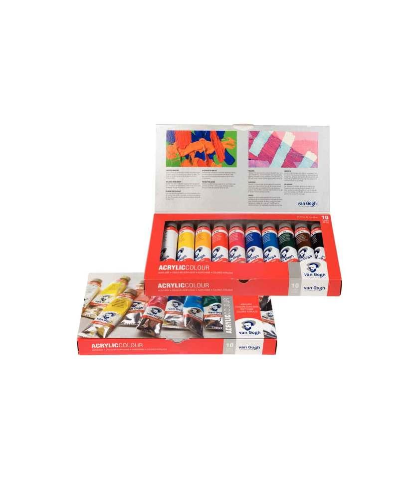 set-10x40ml-van-gogh-akrulika-talens-Art&Colour