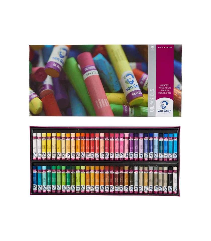 set-60-oil-pastel-VanGogh-Talens-Art&Colour