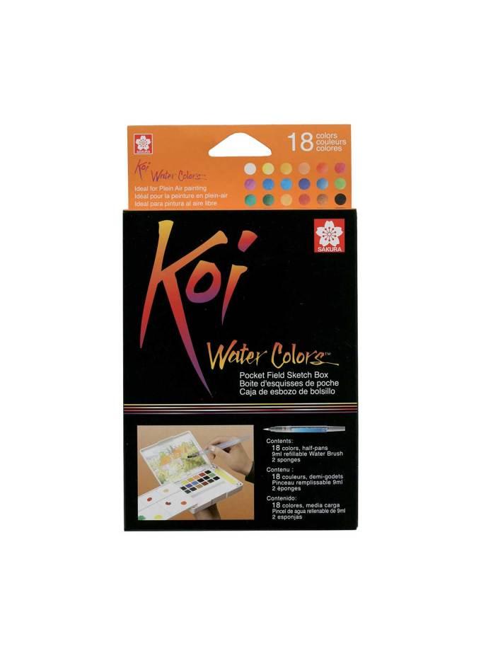 Sakura-Koi-watercolours-SketchBox-18colours-Art&Colour-1