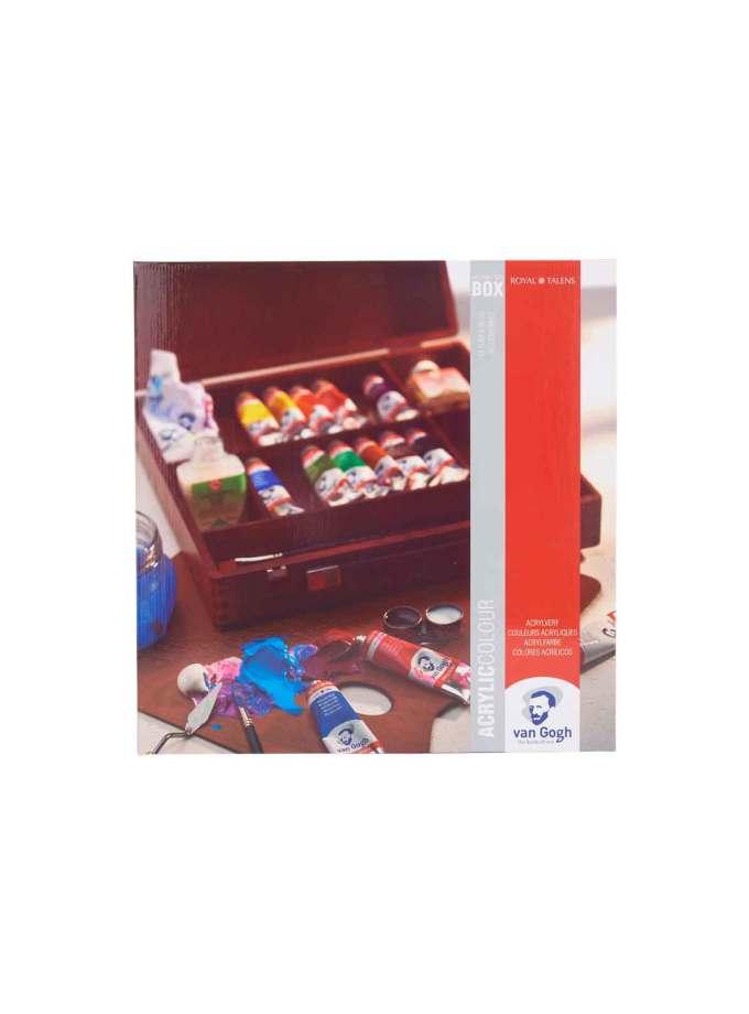 valitsa-zografikis-inspiration-box-acrylic-VanGogh-40ml-Talens-Art&Colour-0