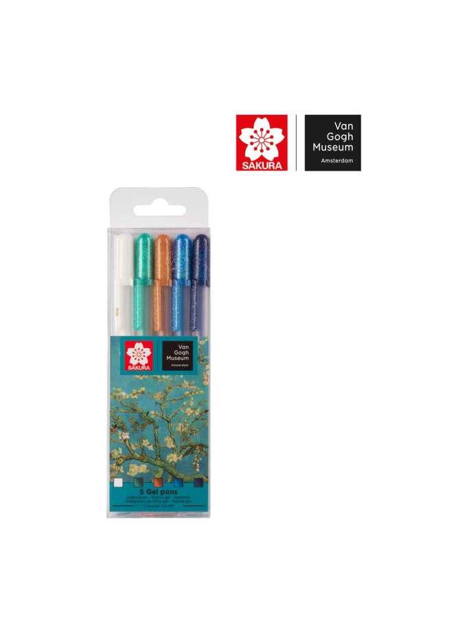 set-5-penakia-gelly-roll-sakura-VanGogh-Museum-Art&Colour