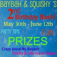Zippies Giveaway- Baybah and Squishy's 2nd Birthday Bash