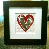Father's Day Craft | Monkey Toes (Footprint Craft)
