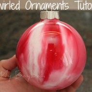 DIY Ornaments | Swirled Ornament Tutorial