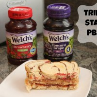 Welch's PB&J Your Way | Our Triple Stack PB&J Sandwich #PBJYourWay