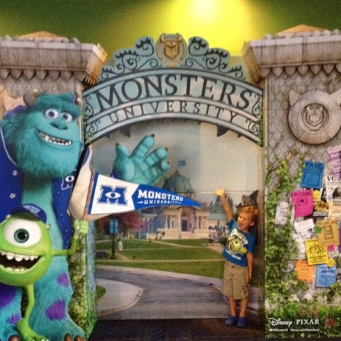 Monsters University Review #MonstersUPremiere