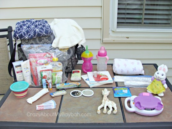 What's in my diaper bag? #ToddlerGear