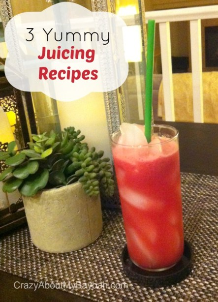 3 Quick and Yummy Juicing Recipes