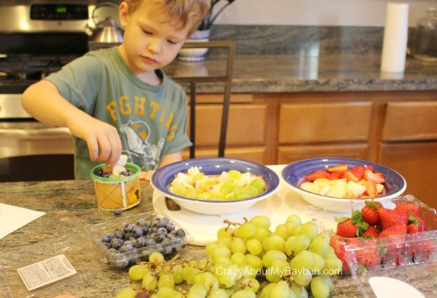 PBS Kids and Whole Foods Peg + Cat Fruit Salad Recipe and Craft