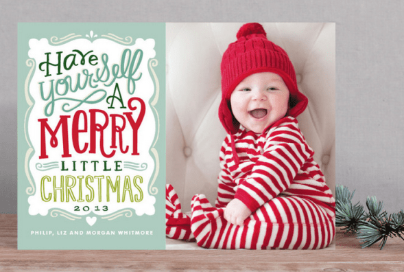 Minted Holiday Card Collection